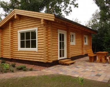 Sfeervolle en compacte loghouse
